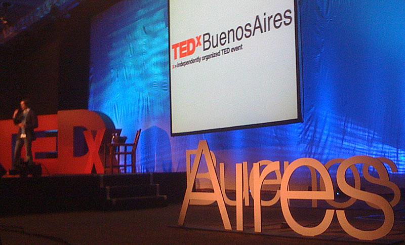 Escenario TEDxBA