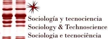 Revista Sociología y Tecnociencia