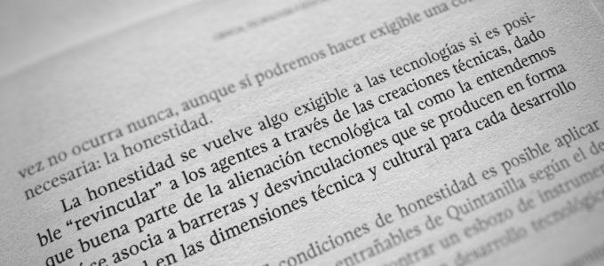 Honestidad tecnológica por Martín Parselis