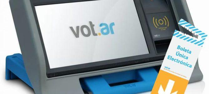 voto electrónico argentina