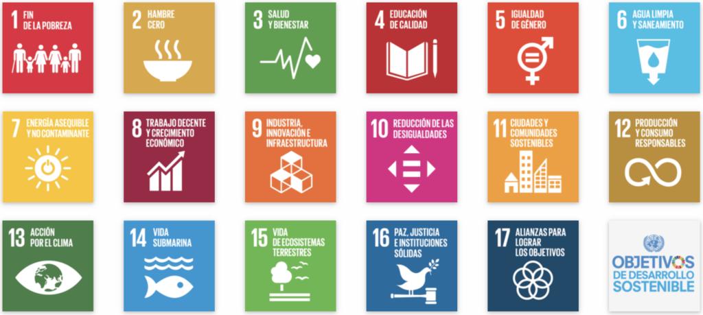 Objetivos de Desarrollo Sostenible UN