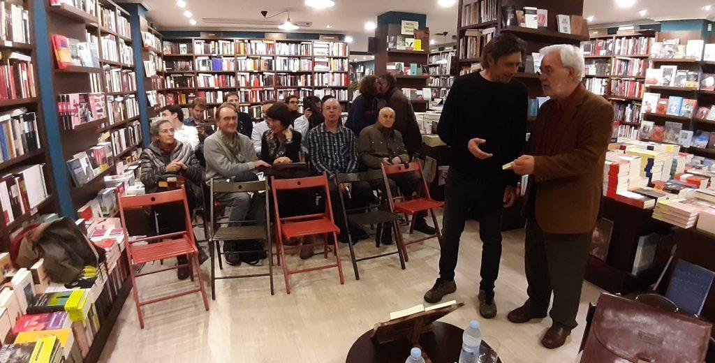 Miguel Angel Quintanilla Fisac Martin Parselis en Letras Corsarias Salamanca