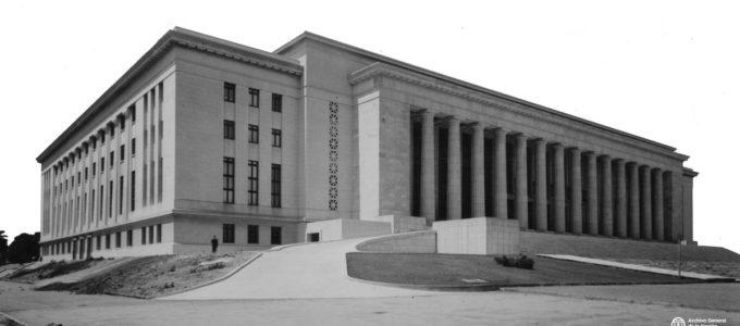 Facultad de Derecho circa 1948